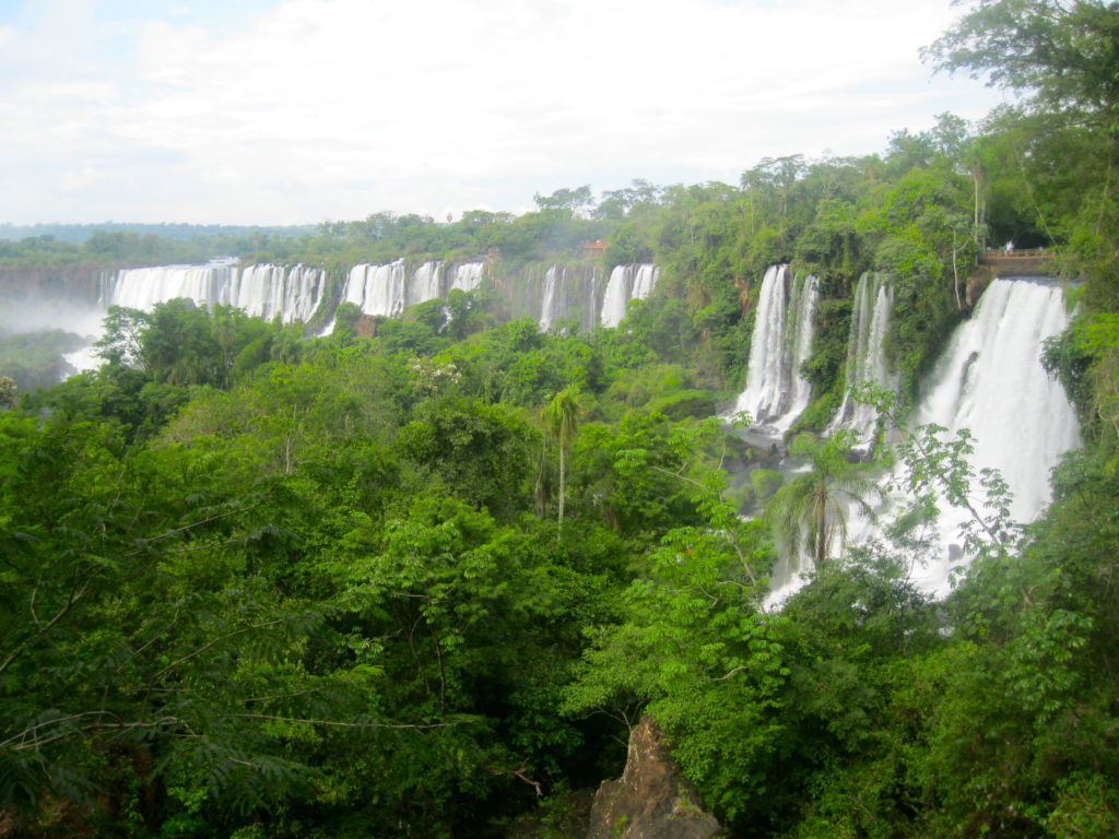 Visiting Iguazu Falls, Argentina