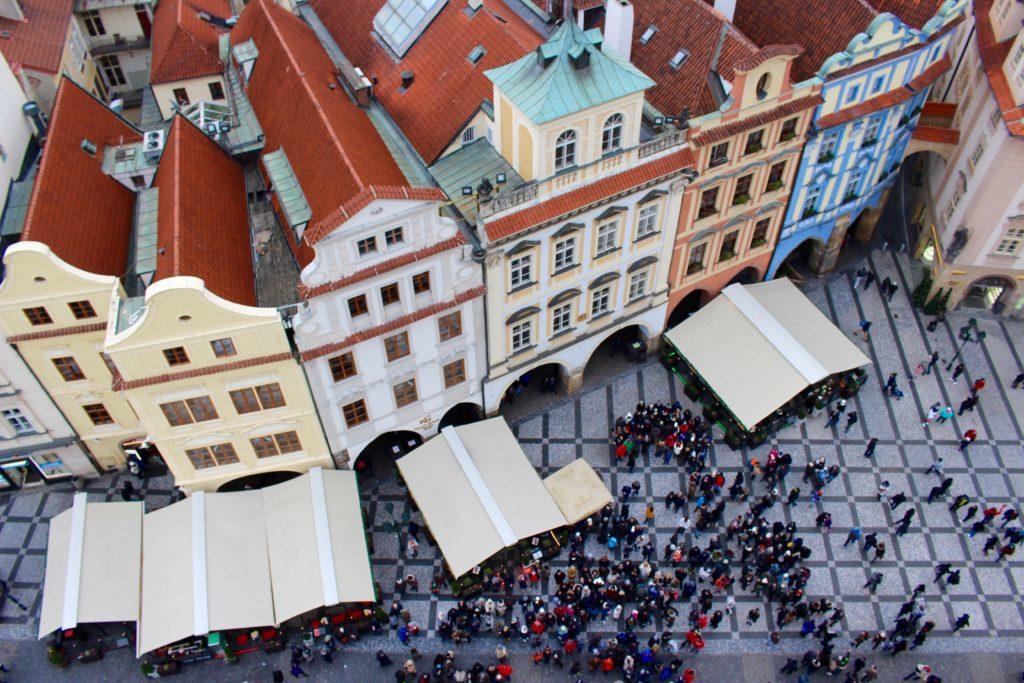Prague's Old Town Square Christmas Market