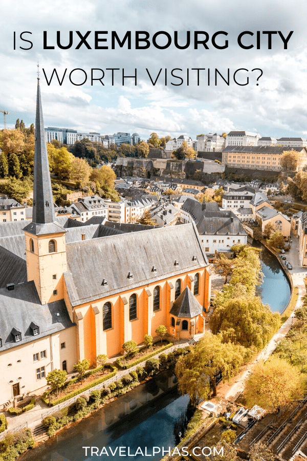 Is Luxembourg City worth visiting? Whether you're planning a day trip to Luxembourg City or just passing through, here's what you need to know about visiting Luxembourg City! From things to do, gardens to see, information about the city and the culture, and more, this post will help you decide whether or not Luxembourg is worth adding to your European travel itinerary. #Luxembourg #LuxembourgCity #Europe