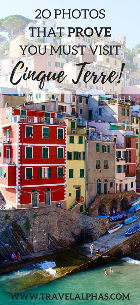 20 Photos That Prove You Must Visit Cinque Terre, Italy! Via: www.travelalphas.com