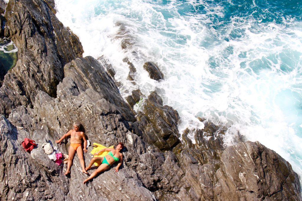 Hiking in Cinque Terre.