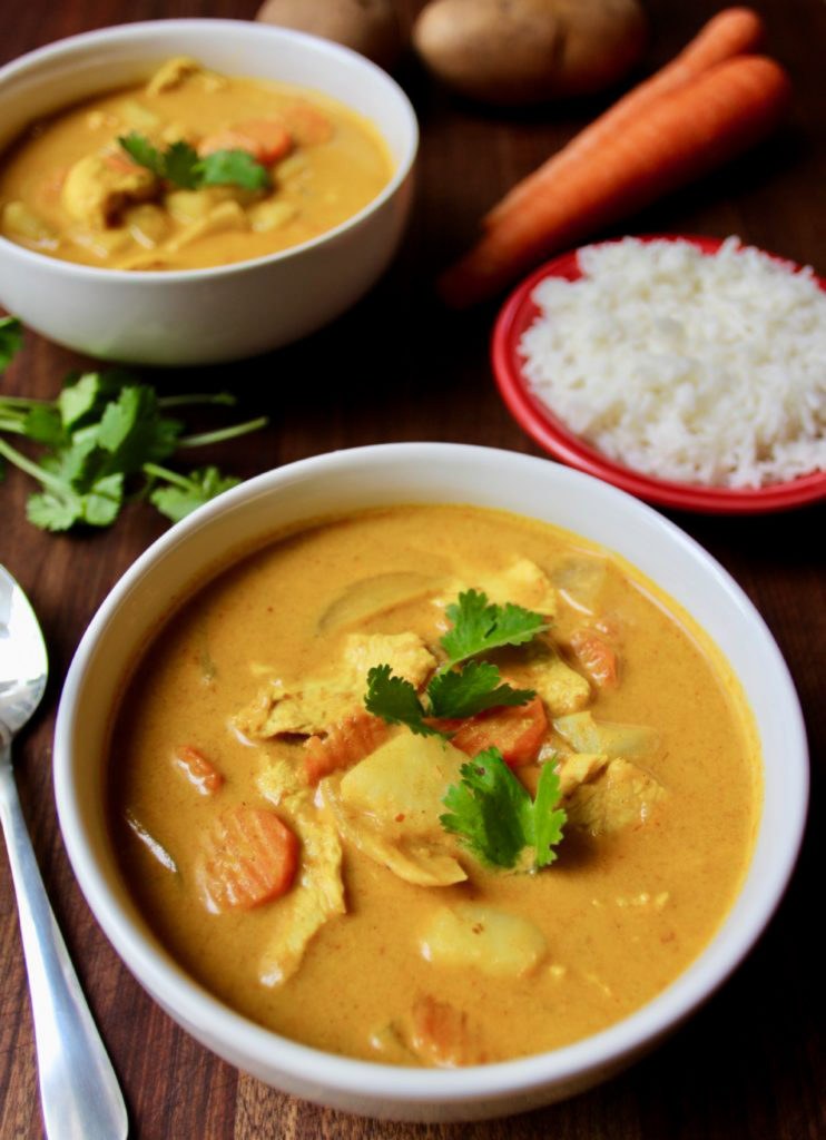 Making this authentic Thai yellow curry recipe is like taking a trip to Thailand, without the jet lag. As good as your favorite restaurant!