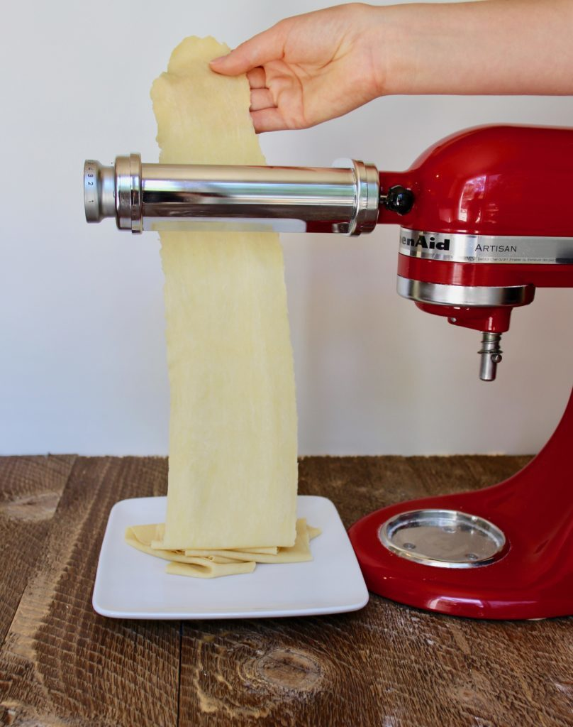 Make pasta from scratch, with or without a mixer and pasta attachment. Here's the homemade pasta recipe we learned in Italy!