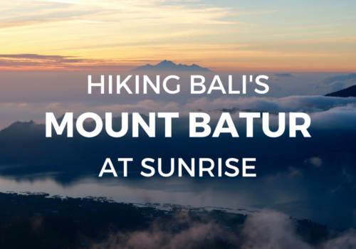 Looking for some Bali travel inspiration? Or maybe something to fuel your wanderlust? When you travel to Bali, there are a few things you must do! One of them, is hiking up Mount Batur early in the morning, to watch the sun rise from the top. In this post, we detail what it's like to climb one of Bali's volcanoes, to see a spectacular sunrise from the peak. We also list some very important tips, to help you have the best experience possible! If you're thinking of hiking Bali's Mount Batur at sunrise, then this post is for you!