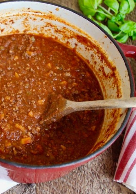 How to Make the Best Bolognese Sauce Ever