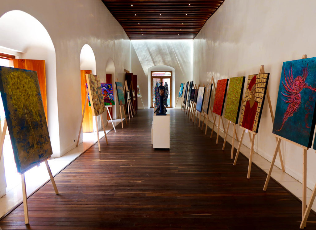 The art in Oaxaca is colorful and made with love. During a trip to Oaxaca, you should make sure to go to at least a few art galleries.