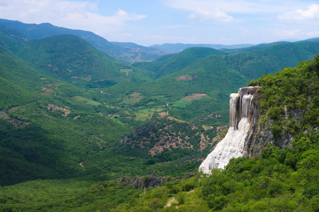 During your trip to Oaxaca, make sure to go to Hierve el Agua - it is one of the best things to see in Oaxaca.