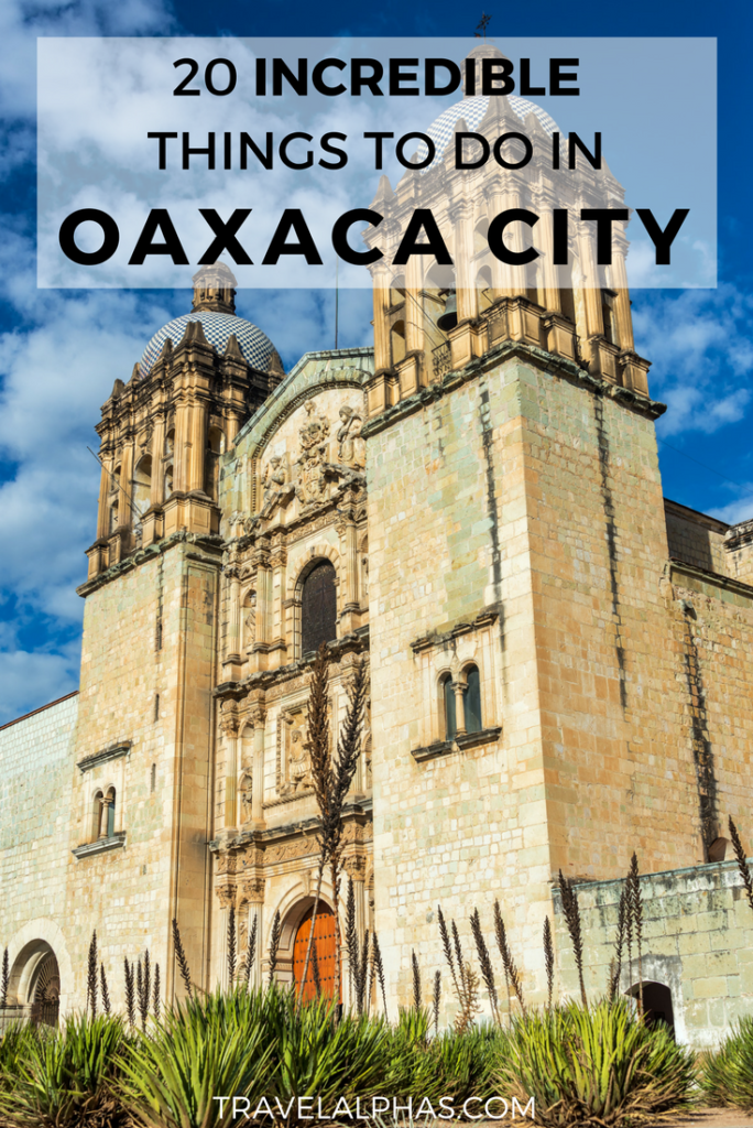 Taking a trip to Oaxaca City, Mexico soon? From mezcal tastings and street food, to museums and ancient ruins, here are the 20 best things to do in Oaxaca City, Mexico! | Oaxaca, Mexico | Mitla | Oaxaca Travel Guide | Oaxaca City | Mexico Travel | Oaxaca Comida | Oaxaca Food | Restaurants in Oaxaca | Things to Do in Oaxaca City | What to Do in Oaxaca City | Best Activities in Oaxaca | Oaxaca Artesanias | Oaxaca Turismo | Hierve el Agua | Shopping in Oaxaca | Guide to Oaxaca | Oaxaca Itinerary