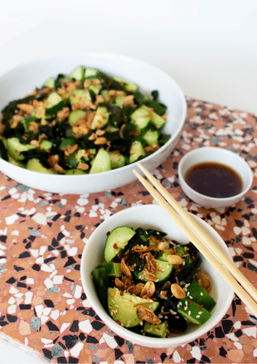 10-Minute Asian-Inspired Cucumber Salad