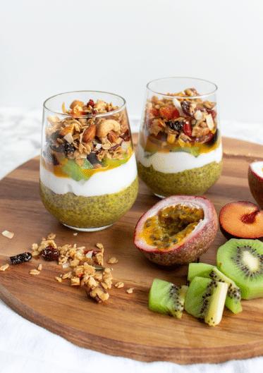 Tropical Mango and Kaffir Lime Chia Pudding