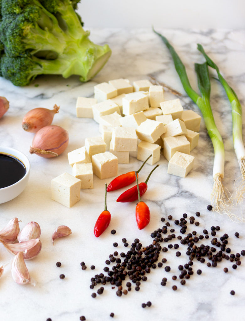 To make Black Pepper Tofu Stir-Fry with Broccoli, you'll need a few ingredients... Most of which you probably already have. Plus a few you might not (like light and dark soy sauce), that are definitely worth adding to your pantry.