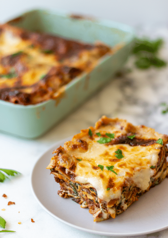 The Best Vegetarian Lasagna Bolognese