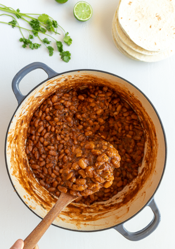 Easy Mexican-Style Pinto Beans from Scratch (Stovetop, 1-Pot!)