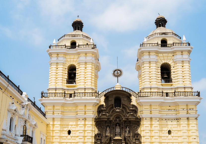 The Iglesia y Convento de San Francisco is a highlight to visit during your day in Lima.